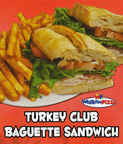 Our Turkey Club Sandwich